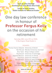 Law Conference Fergus Kelly poster