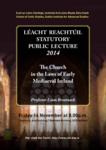 Statutory Public Lecture 2014