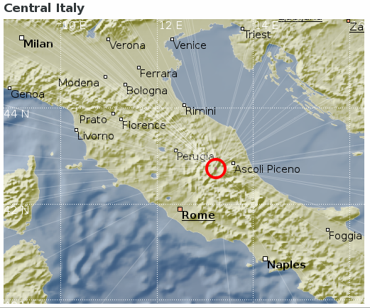 2016 08 24 Earthquake In Italy Dias