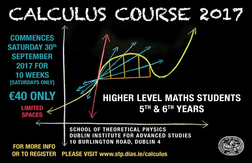 Calculus Course – DIAS